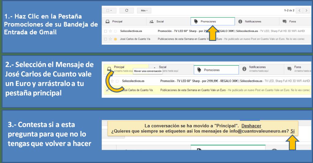 Guia para Gmail